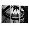 iCanvas Photography Clock Tower In Paris 3 Piece on Canvas Set