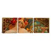 iCanvas Alphonse Mucha Biscuits Lefevre Utile 3 Piece on Canvas Set