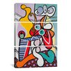 iCanvasArt Picasso Nude and Still Life Pablo 3 Piece on Canvas Set