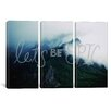 iCanvas Leah Flores Let's Be Epic 3 Piece on Canvas Set