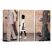 iCanvas Norman Rockwell The Problem We All Live With (Ruby Bridges) 3 Piece on Canvas Set