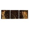 iCanvas Gustav Klimt The Tree of Life II 3 Piece on Canvas Set