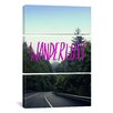 iCanvas Wanderlust Forest by Leah Flores 3 Piece on Canvas Set