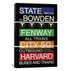 iCanvasArt Erin Clark Boston 3 Piece on Canvas Set