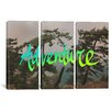 iCanvas Leah Flores Adventure (Whidbey Island) 3 Piece on Canvas Set