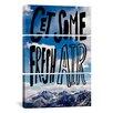 iCanvas Leah Flores Fresh Air II 3 Piece on Canvas Set
