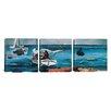 iCanvasArt Winslow Homer Nassau 3 Piece on Canvas Set