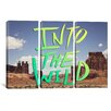 iCanvasArt Leah Flores Into the Wild (Moab) 3 Piece on Canvas Set