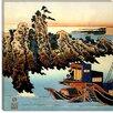 "iCanvas ""Chunagon Yakamochi ll"" Canvas Wall Art by Utagawa Hiroshige l"
