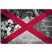 <strong>Alabama Flag, Welcome Sign, Vintage Map, Plantation Graphic Art on ...</strong> by iCanvasArt