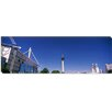 iCanvas Panoramic Buildings in a City, Alamodome, San Antonio, Texas Photographic Print on Canvas