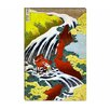 iCanvasArt 'Yoshitsune Falls' by Katsushika Hokusai Graphic Art on Canvas