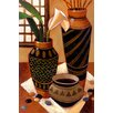 iCanvas Still Life with African Bowl by Keith Mallett Painting Print on Canvas