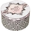 <strong>Belle Papier Dear Friend Simply Classic Round Box</strong> by Cottage Garden