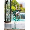 Cape Craftsmen Indoor / Outdoor Metal Mermaid And Turtle Statue