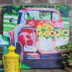 <strong>Cape Craftsmen</strong> Outdoor Canvas Truck Wall Decor