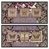 <strong>Cape Craftsmen</strong> Wings on Paisley by Studio 5 2 Piece Framed Graphic Art Set