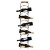 Cape Craftsmen 6 Bottle Wall Mount Wine Rack