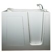 "<strong>Deep 55"" x 35"" High Air and Hydrotherapy Massage Walk-In Bathtub</strong> by Ella Walk In Baths"