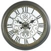 """<strong>Cooper Classics</strong> Oversized 24.5"""" Marlow Wall Clock"""