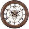 """<strong>Cooper Classics</strong> Oversized 24.5"""" Audrey Round Wall Clock"""