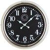 "Cooper Classics Oversized 24.5"" Fillmore Wall Clock"