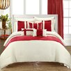 Chic Home Fiesta 10 Piece Bed-in-a-Bag Comforter Set