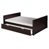 Camaflexi Camaflexi Full Size Platform Bed with Twin Trundle