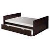 Camaflexi Camaflexi Full Size Platform Bed with Twin Trundle