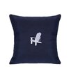 Nantucket Bound Sunbrella Lumbar Pillow With Embroidered Adirondack