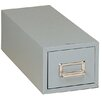 """Buddy Products 3"""" x 5"""" Single Drawer Card File"""