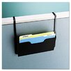 <strong>Buddy Products</strong> Dr. Pocket Steel Add-On/Single Pocket Wall File, Letter, Black