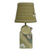 "AHS Lighting Shell Buoy 14"" H Table Lamp with Empire Shade"