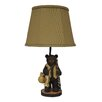 """<strong>Fishing Bear 22"""" H Table Lamp with Empire Shade</strong> by AHS Lighting"""