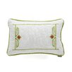 echo design Gramercy Paisley Cotton Breakfast Pillow
