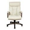 PRI Sealy Posturepedic High Back Chair Bone White