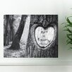 JDS Personalized Gifts Personalized Gift Tree of Love Photographic Print on Canvas