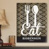 <strong>JDS Personalized Gifts</strong> Personalized Gift Bistro Sign Textual Art on Canvas