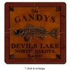 JDS Personalized Gifts Personalized Gift Cabin Series Coaster Puzzle