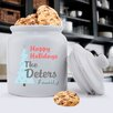 <strong>JDS Personalized Gifts</strong> Personalized Gift Holiday Cookie Jar