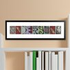 JDS Personalized Gifts Personalized Gift Architectural Elements II Family Name Framed Photographic Print