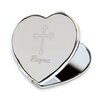 <strong>JDS Personalized Gifts</strong> Personalized Gift Heart Mirror with Engraved Cross
