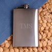 JDS Personalized Gifts Personalized Gift Gunmetal Flask