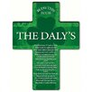 JDS Personalized Gifts Personalized Gift Irish Blessing Shamrock Cross