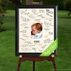 JDS Personalized Gifts Personalized Gift Laser Engraved Wedding Wishes Signature Picture Frame