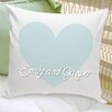 JDS Personalized Gifts Personalized Gift Couples and Love Throw Pillows