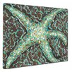 <strong>My Island</strong> Mosaic Starfish Mounted by Giclee Gerri Hyman Painting Print on Canvas