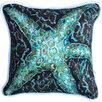 My Island Mosaic Starfish Cotton Pillow