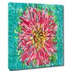 My Island Blossom Mounted by Giclee Gerri Hyman Painting Print on Canvas