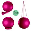 Greenbo Rail Planters Greenball Round 3 Hangers Planter
